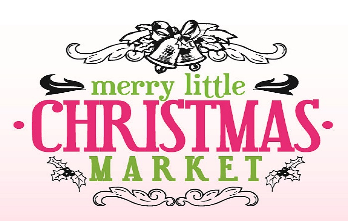 merry little christmas market